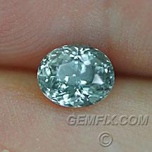 green blue Montana Sapphire oval