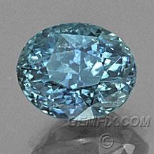 Montana Sapphire round blue green