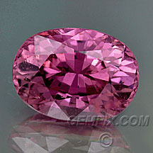 pink sapphire oval