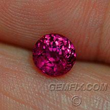 magenta sapphire ruby