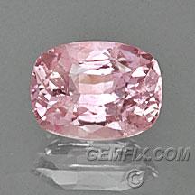sapphire peach pink cushion