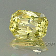 untreated fancy yellow diamond color sapphire