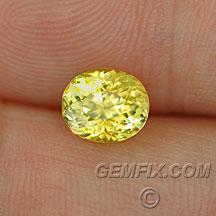 fancy yellow certified sapphire