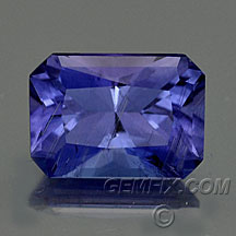 tanzanite princess cut