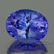 tanzanite brilliant oval