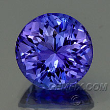 Tanzanite Round brilliant round