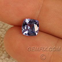 square cushion tanzanite