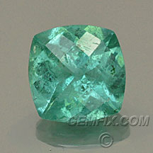 cushion tourmaline paraiba color