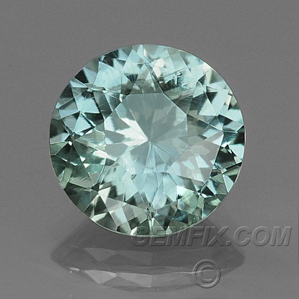Blue Green Unheated Montana Sapphire Round Quot Portuguese